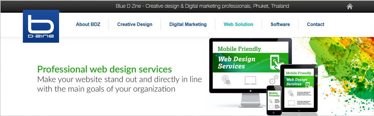 Blue D Zine Software Development Web Services Online Marketing Phuket