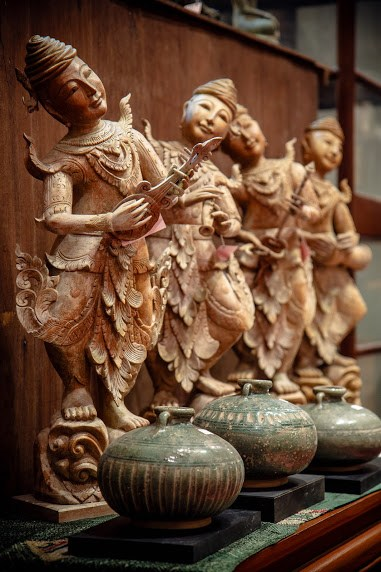Chan's Antique - Antiques Antique Reproductions Thai Handicrafts Phuket Thailand