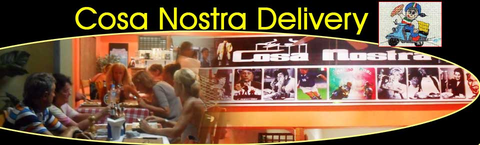 Cosa Nostra Genuine Italian Family Pizza Restaurant With Home Delivery Chalong Phuket