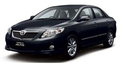 David Car Rent Car Rent Guarantees Competitive Prices Toyota Altis