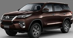 David Car Rent Car Rent Guarantees Competitive Prices Toyota Fortuner