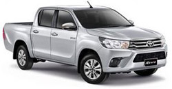 David Car Rent Car Rent Guarantees Competitive Prices Toyota Hilux Revo