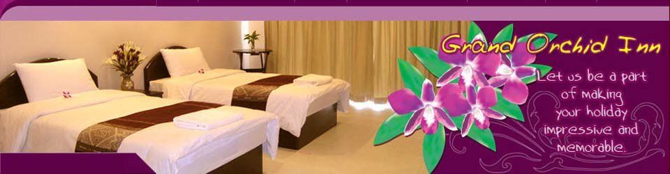 Grand Orchid Inn Hotel Guesthouse Patong Beach Phuket Thailand