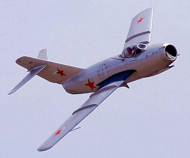 Mikoyan-Gurevich MiG-15, North Korean Air Force, 1952.