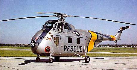Sikorsky S-55 (H-19) Rescue Helicopter, Korea, 1952
