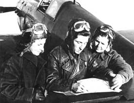 HWELTE - World War II aviation book on Russian women fighter pilots