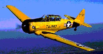 North American AT-6 - U.S. Army Air Corps Trainer
