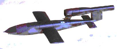 V-1 Fieseler Fi 103  AKA: Buzz Bomb, Doodlebug, or Flying Bomb