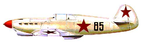 Yak-1: The type flown by Tamara with the all-male 269th Fighter Air Regiment.