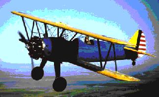 Boeing PT-17 Stearman - U.S. Army Air Corps Trainer