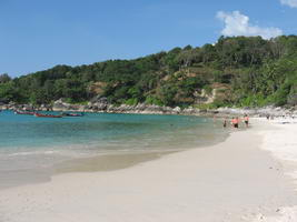 Beautiful Freedom Beach on Tropical Phuket Island Thailand