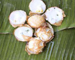 Khanom-krok A sweet dumpling-like treat