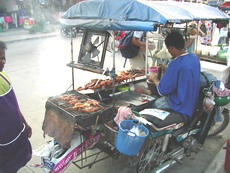 Touring around Tropical Phuket Island visit street-food venders