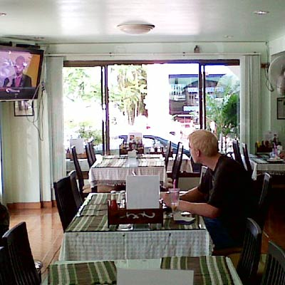 Joy's Cafe Guesthouse Guest House Hotel Restaurant Patong Beach Phuket Thailand