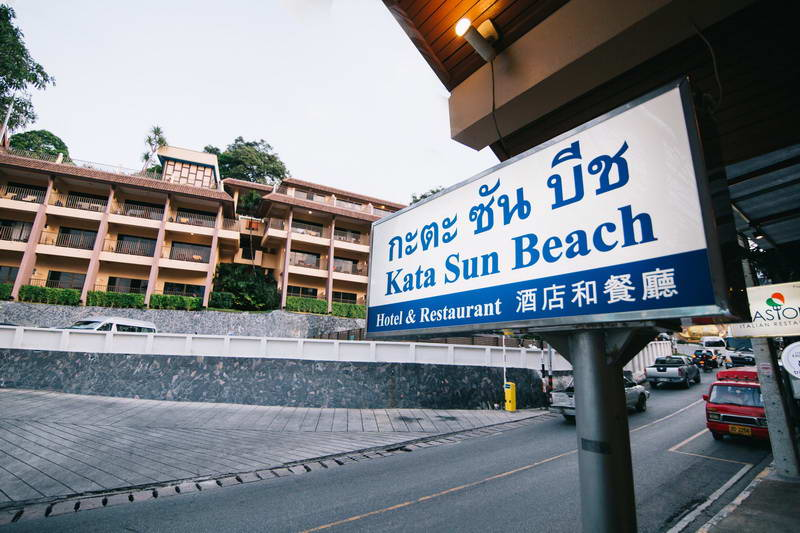 Kata Sun Beach Seaside Hotel Accommodations Kata Beach Phuket Thailand