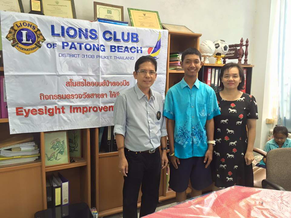 Lions Club Patong Beach service to community