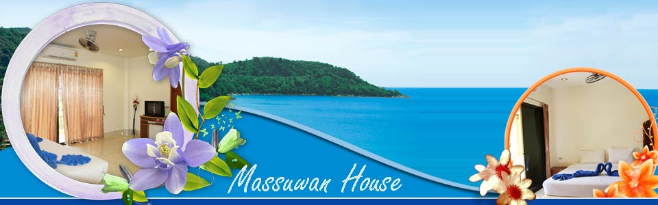 Massuwan House Karon Beach Guesthouse Rooms Phuket Thailand