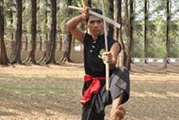 Muay Boran Krabi Krabong Weapon-based Martial Arts Thai, Phuket