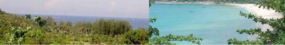 Spectacular Andaman Sea view property for sale overlooking Naithon Beach, Phuket