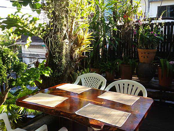 Natural Restaurant - Antiques and Nature Restaurant Phuket Town Thailand