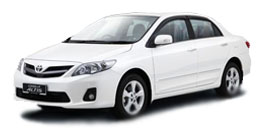 Nature Car Rent offers Competitive Prices Toyota Altis
