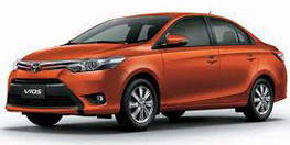 Nature Car Rent offers Competitive Prices Toyota New Vios (E)