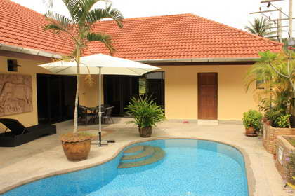 Orchid Villa Two Bedroom Pool Villa Nai Yang Beach Phuket includes Car, Motorbike
