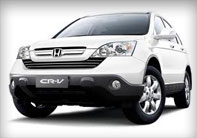Phuket Car Rent Honda CR-V - Autos Cars Vans Jeep Rentals Phuket Thailand