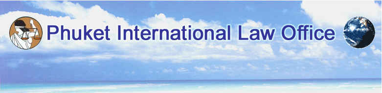 Phuket International Law Office Legal Services Consultants Phuket Thailand