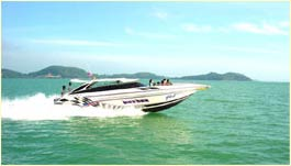Phuket Tropical Marine - Speedboat Tours speedboat