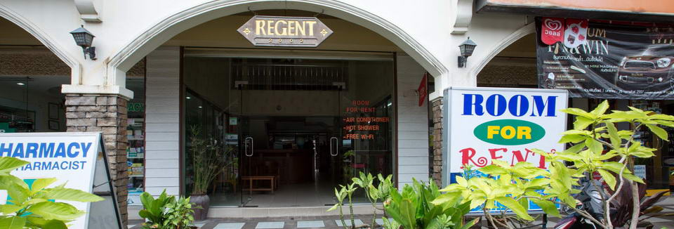 Regent 2002 Guest House Guesthouse Hotel Rooms Patong Beach, Phuket Thailand