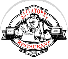 Salvatore's Restaurant, Phuket's own Italian trattoria with bright colors, serene environment, soft music, rich and traditional flavors, a cuisine based on fresh and genuine ingredients