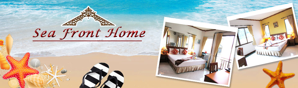 Sea Front Home Deluxe Guesthouse Hotel Patong Beach Phuket Thailand