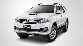 SMC (Services Minded Company) Phuket Car Rent Guarantees Competitive Prices for Toyota Fortuner