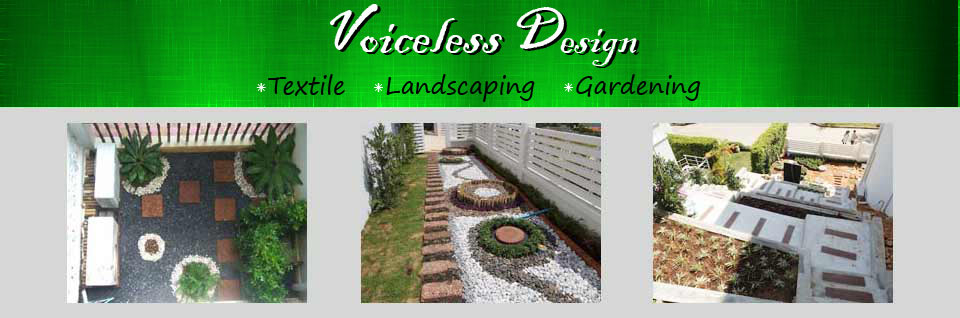 Voiceless Design Thai Fabrics Textiles & Creative Landscaping